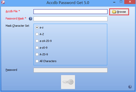 Accdb Password Get 5.2 Screen shot